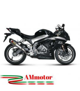 Akrapovic Suzuki Gsx-R 1000 09 2011 Impianto Di Scarico Completo Evolution Line Terminale Collettori Titanio Moto