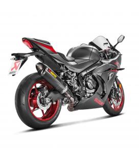 Akrapovic Suzuki Gsx-R 1000 17 2019 Terminale Di Scarico Slip-On Line Carbonio Moto Omologato