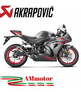 Akrapovic Suzuki Gsx-R 1000 17 2019 Terminale Di Scarico Slip-On Line Titanio Moto