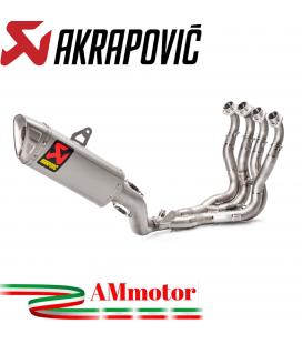 Akrapovic Suzuki Gsx-R 1000 17 2019 Impianto Di Scarico Completo Racing Line Terminale Titanio Moto