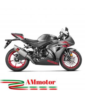 Akrapovic Suzuki Gsx-R 1000 17 2019 Impianto Di Scarico Completo Evolution Line Terminale Collettori Titanio Moto