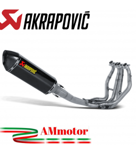 Akrapovic Suzuki Gsx-R 1300 Hayabusa Impianto Di Scarico Completo Racing Line Terminale Carbonio Moto
