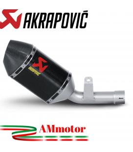 Akrapovic Suzuki Gsx-R 750 06 2007 Terminale Di Scarico Slip-On Line Carbonio Moto