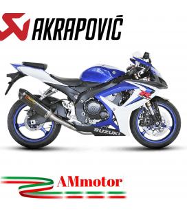 Akrapovic Suzuki Gsx-R 750 06 2007 Terminale Di Scarico Slip-On Line Carbonio Moto Omologato