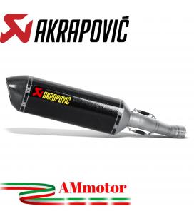 Akrapovic Suzuki Gsx-R 750 08 2010 Terminale Di Scarico Slip-On Line Carbonio Moto Omologato
