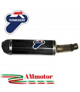 Terminale Di Scarico Termignoni Honda Cb 500 Marmitta Relevance Carbonio Moto Omologato