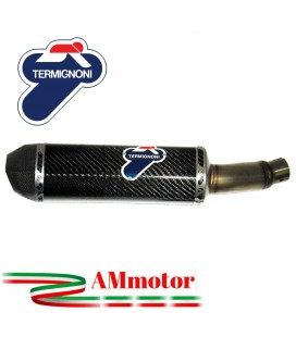 Terminale Di Scarico Termignoni Honda Cbr 500 Marmitta Relevance Carbonio Moto Omologato