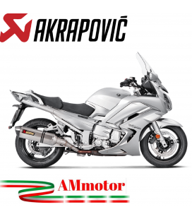 Akrapovic Yamaha Fjr 1300 16 2019 Terminali Di Scarico Slip-On Line Titanio Moto Omologato
