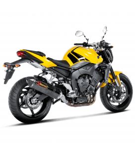 Akrapovic Yamaha Fz1 / Fz1 Fazer Terminale Di Scarico Slip-On Line Carbonio Moto