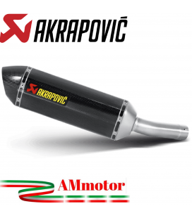 Akrapovic Yamaha Fz8 / Fz8 Fazer Terminale Di Scarico Slip-On Line Carbonio Moto Omologato