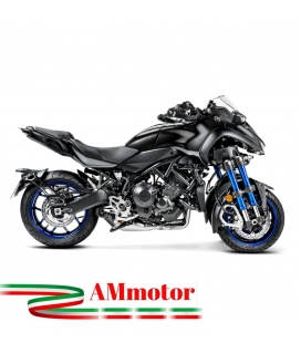 Akrapovic Yamaha Niken Impianto Di Scarico Completo Racing Line Terminale Titanio Moto