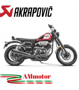 Akrapovic Yamaha Scr 950 Terminale Di Scarico Slip-On Inox Black Moto