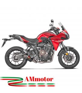 Akrapovic Yamaha Tracer 700 Impianto Di Scarico Completo Racing Line Terminale Carbonio Moto