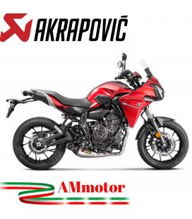 Akrapovic Yamaha Tracer 700 16 - 2019 Impianto Di Scarico Completo Racing Line Terminale Titanio Moto
