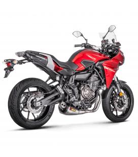 Akrapovic Yamaha Tracer 700 Impianto Di Scarico Completo Racing Line Terminale Titanio Moto