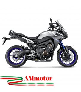 Akrapovic Yamaha Tracer 900 Fj 09 15 2016 Impianto Di Scarico Completo Racing Line Terminale Titanio Moto
