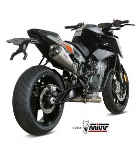 Mivv Ktm 790 Duke Terminale Di Scarico Marmitta Delta Race Inox Moto Omologato