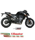 Mivv Ktm 790 Duke Terminale Di Scarico Marmitta Delta Race Black Moto Omologato