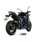 Mivv Suzuki Gsx-S 750 Terminale Di Scarico Marmitta Gp Carbonio Moto Omologato