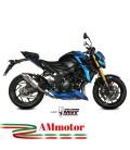 Mivv Suzuki Gsx-S 750 Terminale Di Scarico Marmitta Gp Titanio Moto Omologato