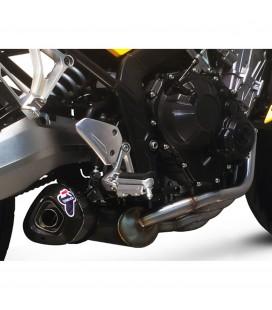 Impianto Di Scarico Completo Termignoni Honda Cb 650 Marmitta Relevance Carbonio Moto