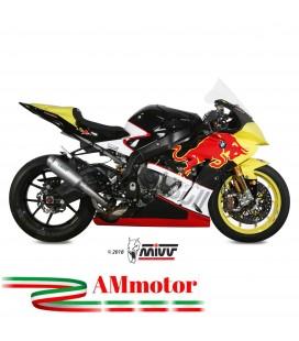 Mivv Bmw S 1000 RR Terminale Di Scarico Marmitta Gp Pro Titanio Moto Omologato
