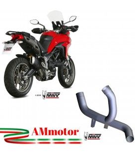 Ducati Multistrada 950 Mivv Tubo Elimina Kat Catalizzatore Moto Collettore Di Scarico