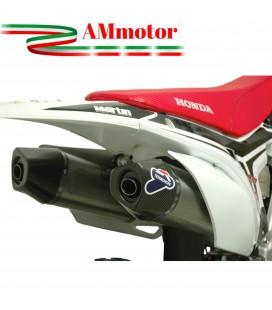 Terminali Di Scarico Racing Termignoni Honda Crf 250 R Silenziatori Relevance C Inox Motocross