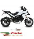 Mivv Ducati Multistrada 1200 Terminale Di Scarico Marmitta Suono Black Moto
