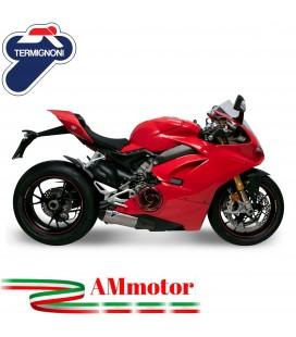 Terminali Di Scarico Termignoni Ducati Panigale V4 Silenziatori In Titanio Racing