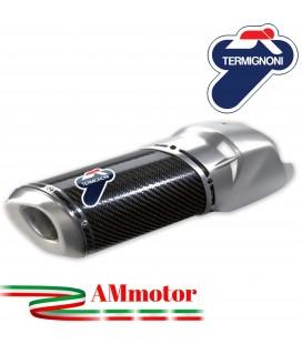 Terminale Di Scarico Termignoni Ducati Multistrada 1200 Silenziatore In Carbonio Moto Omologato