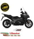 Mivv Honda Integra 750 Terminale Di Scarico Marmitta Suono Black Moto Omologato Scooter