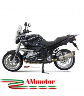 Mivv Bmw R 1200 R Terminale Di Scarico Marmitta Suono Inox Moto Omologato