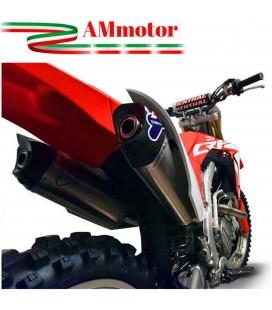 Impianto Di Scarico Completo Racing Termignoni Honda Crf 450 R Silenziatori Relevance C