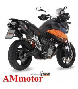 Mivv Ktm 990 Supermoto Smt Oval Carbon Cap Scarichi Moto