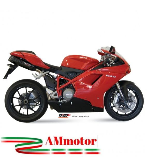 Mivv Ducati 848 Terminali Di Scarico Suono Black Moto