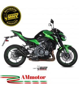 Mivv Kawasaki Z 900 Terminale Di Scarico Marmitta Double Gun Black Moto Omologato