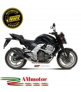 Mivv Kawasaki Z 750 Terminale Di Scarico Moto Marmitta X-Cone Black