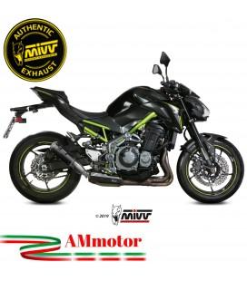 Mivv Kawasaki Z 900 Terminale Di Scarico Moto Marmitta Mk3 Carbonio Omologato