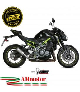 Mivv Kawasaki Z 900 Terminale Di Scarico Moto Marmitta Mk3 Inox Omologato