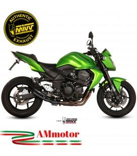 Mivv Kawasaki Z 750 Terminale Di Scarico Moto Marmitta Double Gun Black