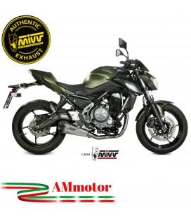 Scarico Completo Mivv Kawasaki Z 650 Terminale Delta Race Inox Moto