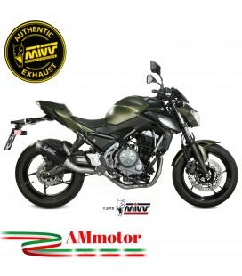 Scarico Completo Mivv Kawasaki Z 650 Terminale Gp Pro Carbonio Moto Alto