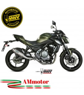 Scarico Completo Mivv Kawasaki Z 650 Terminale Gp Pro Titanio Moto Alto