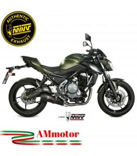 Scarico Completo Mivv Kawasaki Z 650 Terminale Ovale Carbon Cap Moto