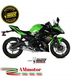 Scarico Completo Mivv Kawasaki Ninja 650 Terminale Delta Race Inox Moto