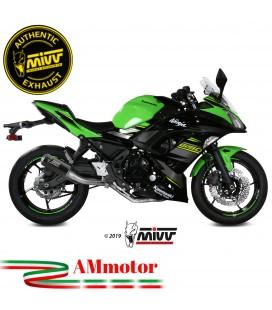 Scarico Completo Mivv Kawasaki Ninja 650 Terminale Mk3 Carbonio Moto
