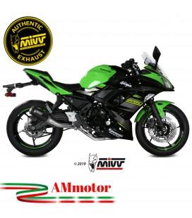 Scarico Completo Mivv Kawasaki Ninja 650 Terminale Mk3 Black Moto