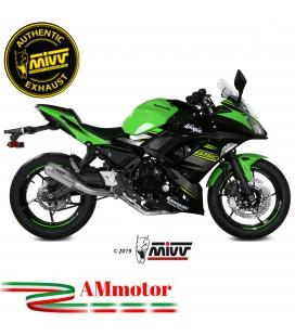 Scarico Completo Mivv Kawasaki Ninja 650 Terminale Mk3 Inox Moto