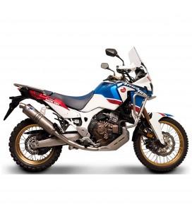 Collettori Di Scarico Racing Termignoni Honda Crf 1000 L Africa Twin Inox Titanio Moto